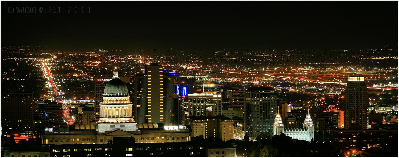 Salt Lake City, Utah by tourofnature