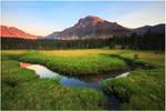 Ostler Peak Sunset