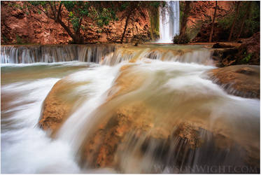 Travertine Cascades by tourofnature