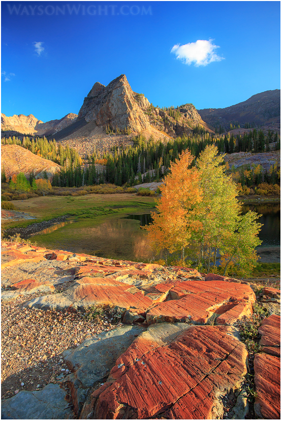 Sun Dial Peak by tourofnature