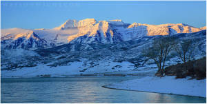 Mount Timpanogas by tourofnature