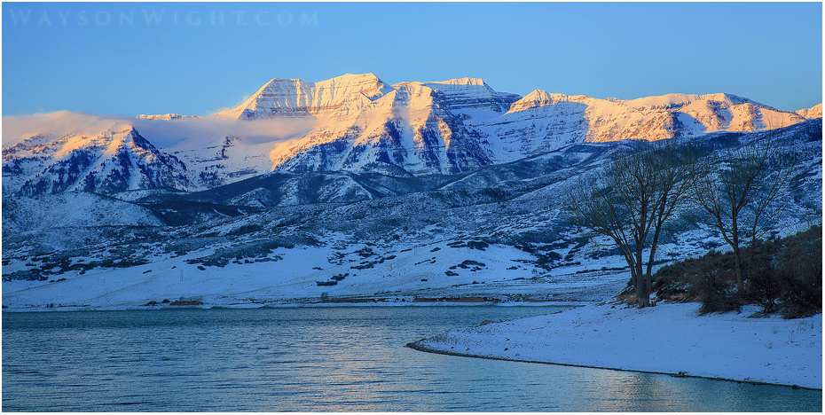 Mount Timpanogas by tourofnature
