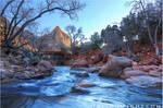 Zion in Winter by tourofnature