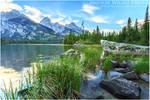 Taggart Lake and Tetons