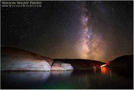 Lake Powell and Galaxies
