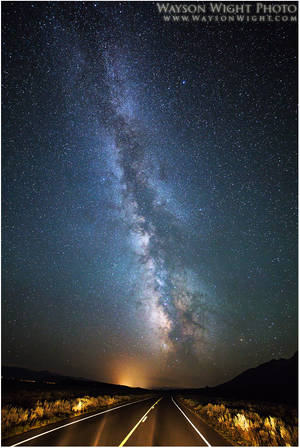 Highways and Galaxies by tourofnature