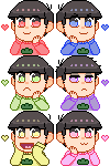 (f2u) oso icons by Frootgum