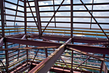Top of Bank of America Plaza by conbot