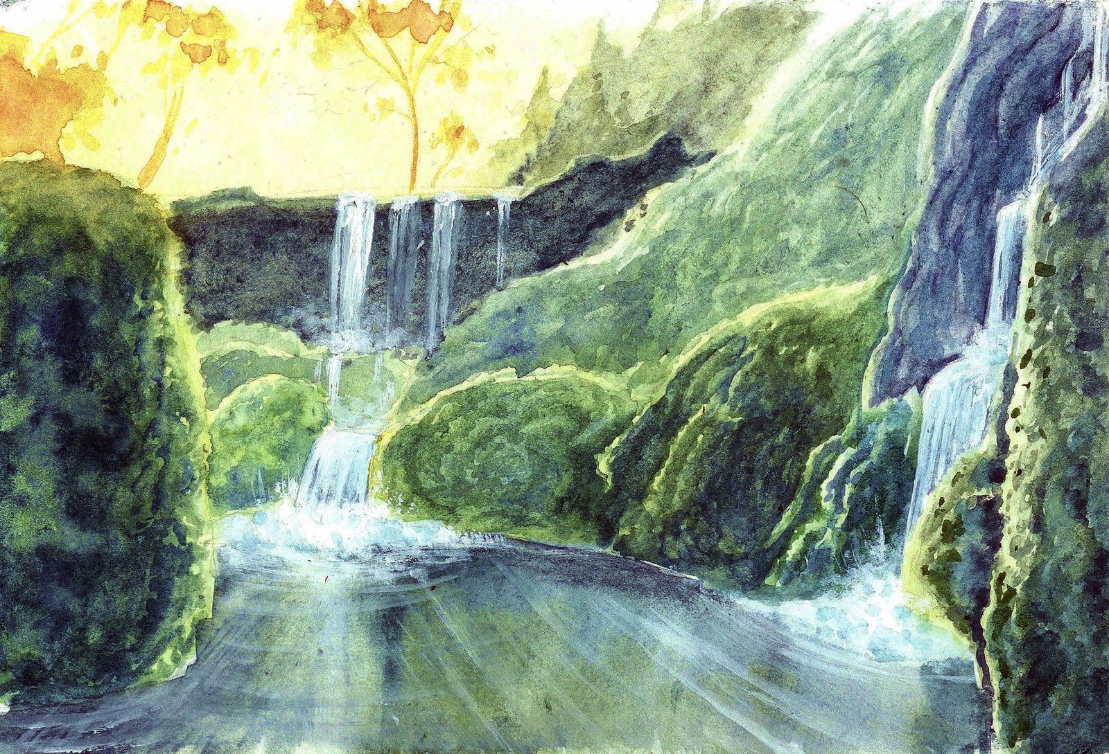 Be like Water by Phosphorose
