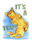 It's a Trap by emilyvonzombie