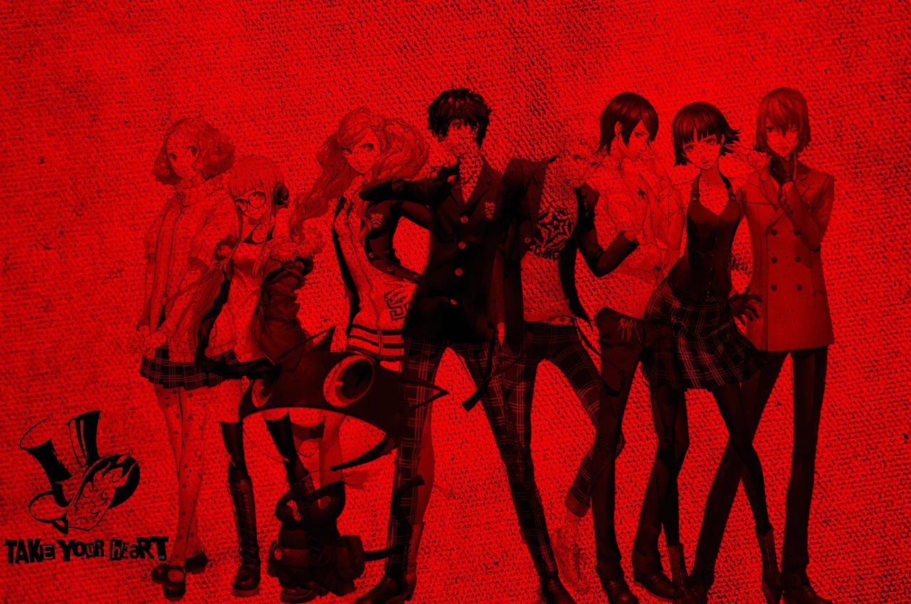 Persona 5 Wallpaper (UPDATED with Goro Akechi)