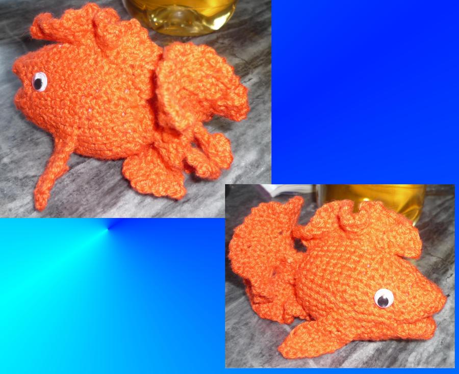Free Amigurumi Goldfish Pattern : Amigurumi Goldfish by Swedish-Freak on deviantART