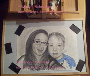 customer order - daughter and son