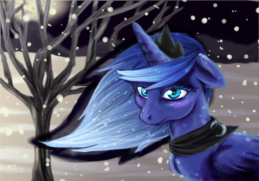 poorly drawn Luna by Arkay9