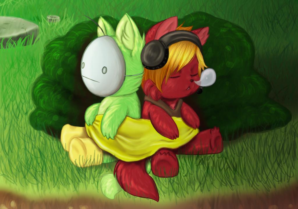 Sleepy in traplands by Buizel149