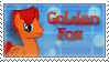 GoldenFox Stamp by Buizel149