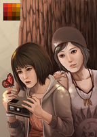 Life is Strange fanart by Arkay9