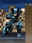 Wolverine rooftop colored