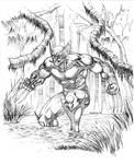 Wolverine Swamped