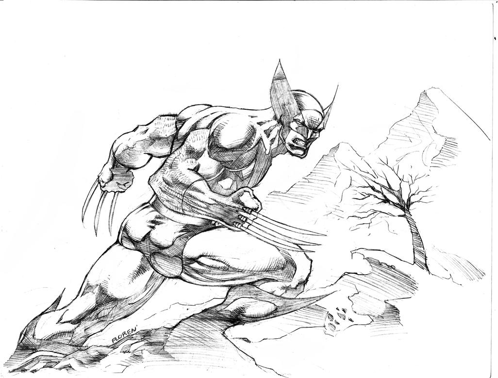 Wolverine by florencuevas
