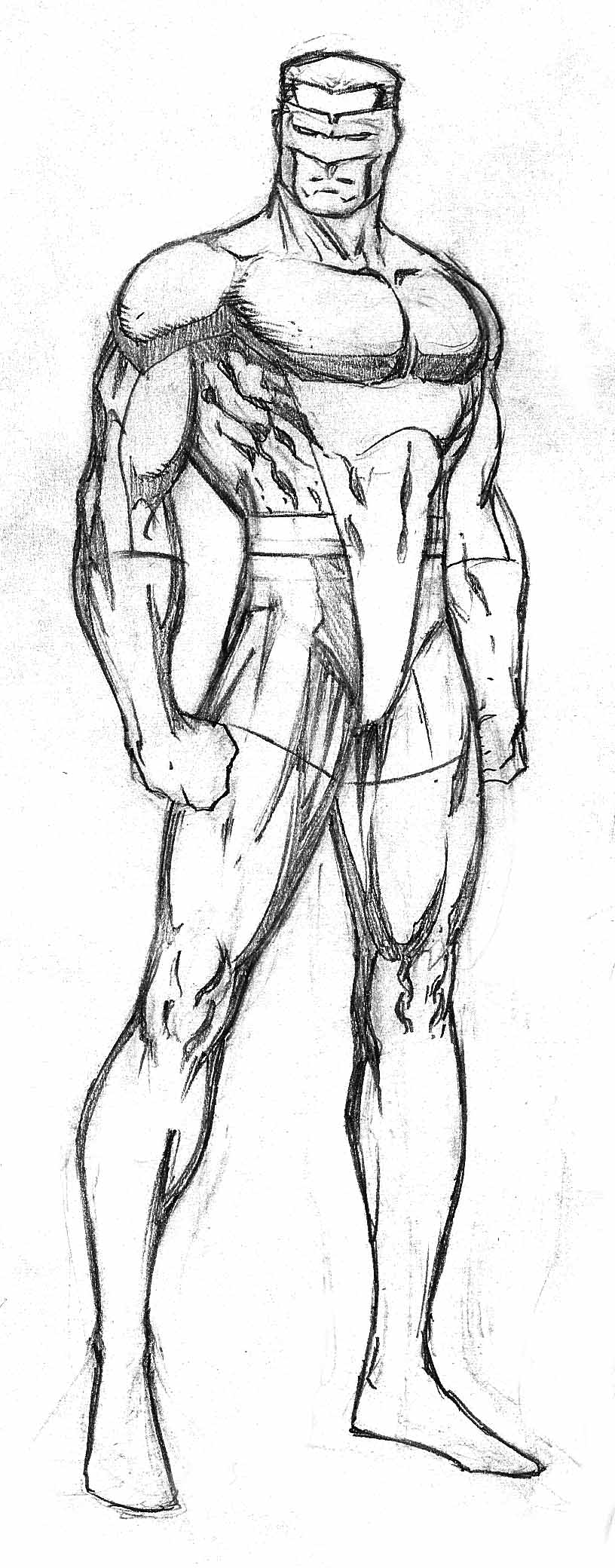 superhero by florencuevas on deviantart