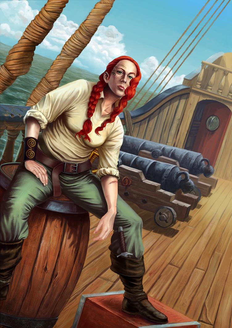 Pirata by jorgemuro
