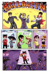 A Star Trek Halloween by caboosemcgrief