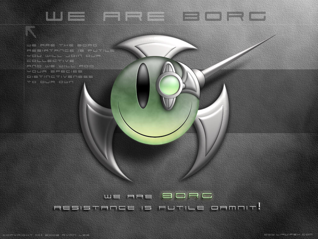 Another borg smiley by liquifex