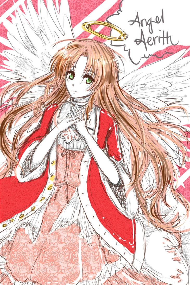 FFVII: AngelAerith by KuniPuni