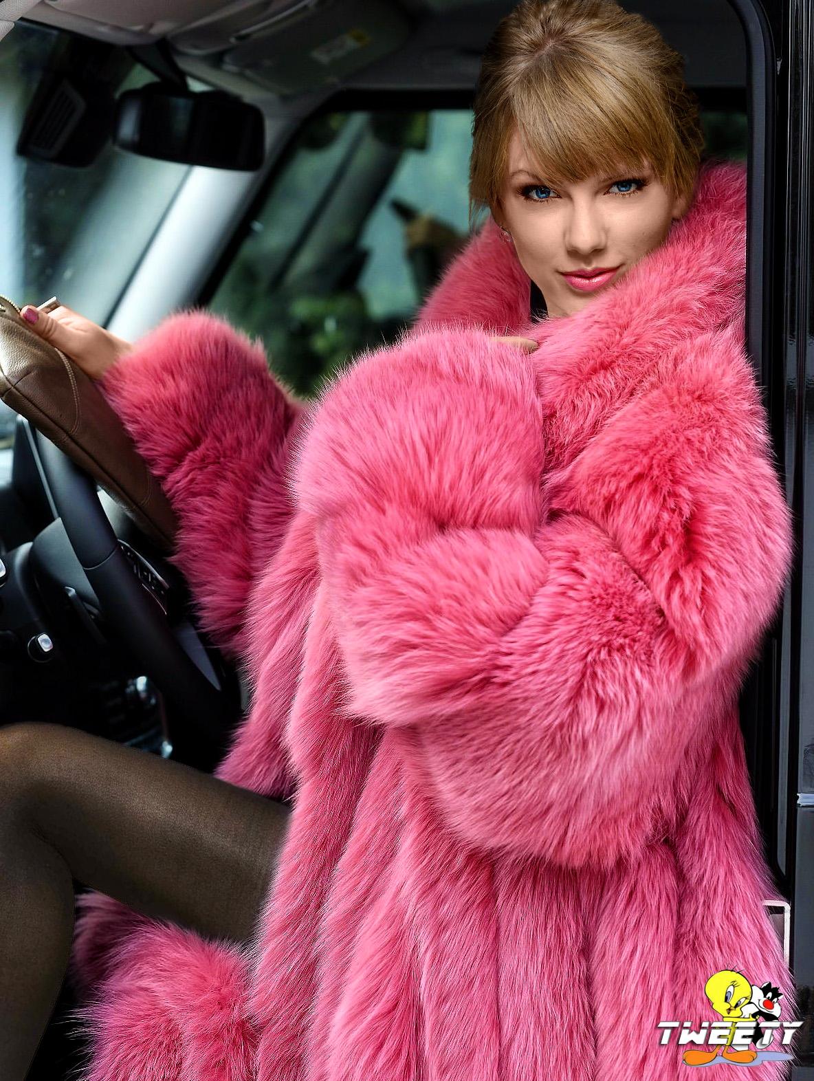 Taylor Swift In Fox Fur Coat Commission By Tweety63 On Deviantart