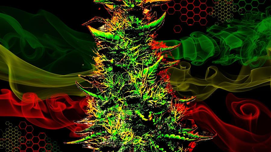 Rasta Weed Wallpaper Hd