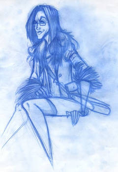 'Sigh' concept drawing