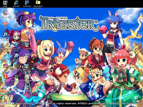 trickster online wallpaper by Mewt-Kaiba9