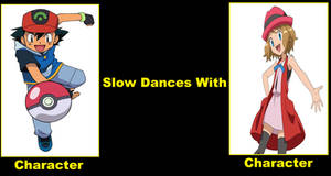 Ash Slow Dances With Serena