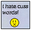 I Hate Cuss Words stamp by BlueLeafeon