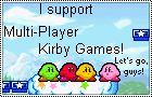 Multi-player Kirby games Stamp by BlueLeafeon