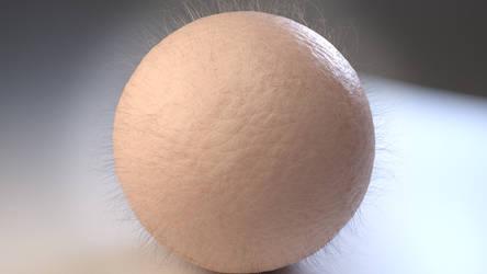 Hairy Skin Ball