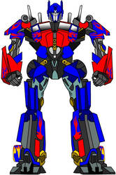 Movie Optimus Prime by D-Animation-Studio