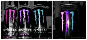 Bi Monster Flavors..yum. by demonicxxchild
