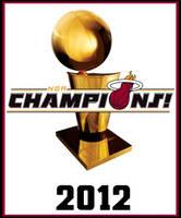 2012 NBA Champions by FJOJR