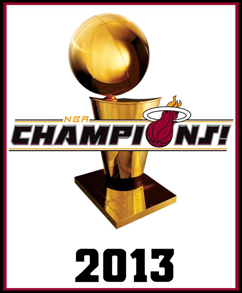 2013 NBA Champions by FJOJR