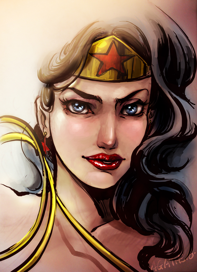 WONDER WOMAN by agathexu