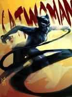 catwoman by agathexu