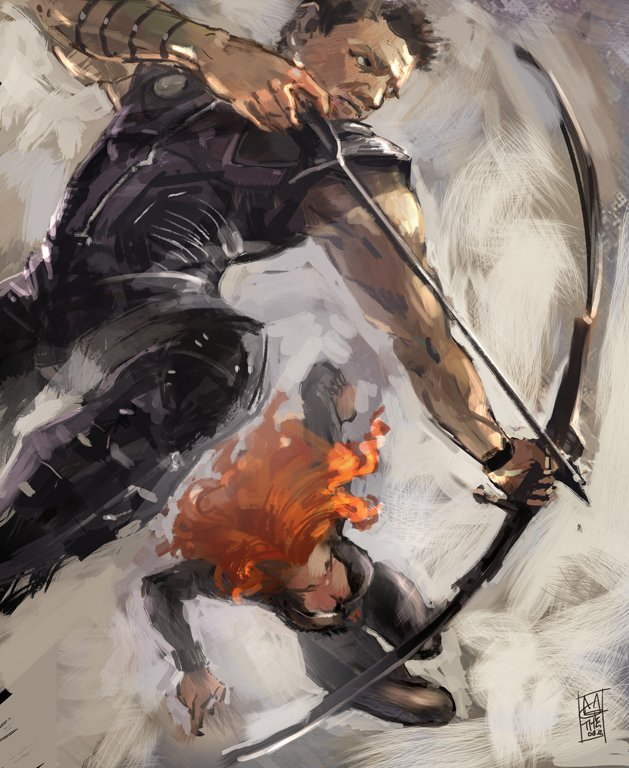 AVENGERS-Cupid by agathexu