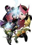 YOUNG AVENGERS-Magneto's household