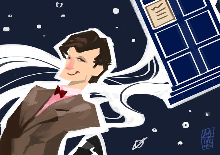 11th doctor by agathexu