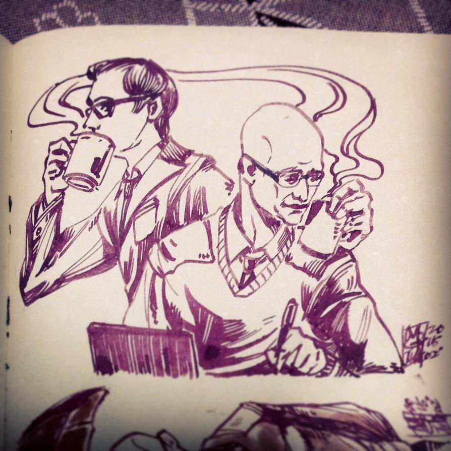 [doodle] Drinks by agathexu