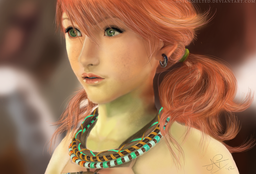 Vanille final fantasy xiii by soyoumelted on deviantart vanille final fantasy xiii by soyoumelted voltagebd Image collections