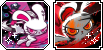 .:: ICONS - Bloody Bunny , The First Blood ::. by Jiji-stamps-n-stuff