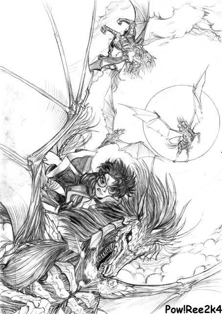 Harry Potter Fan Art by froggiechan
